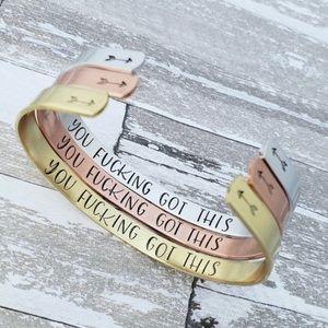 🤘🏻'You F@$?ing Got This' Bracelet 🤘🏻